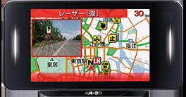 GPSセーフティレーダー画像