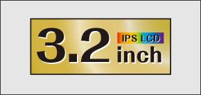 2.4インチIPS液晶