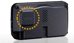GPSアンテナ内蔵
