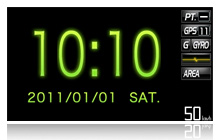 デジタル時計3