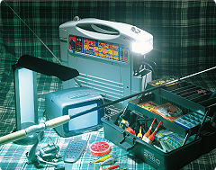 強力バッテリー内蔵の非常用電源