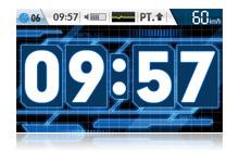 デジタル時計1