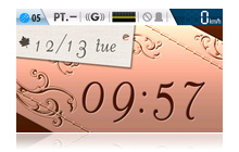 デジタル時計2