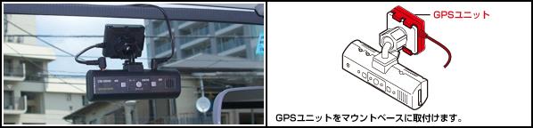 GPSユニット取り付け例
